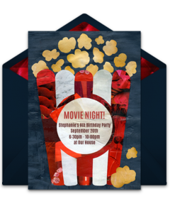Free Oscars Party Online Invitations