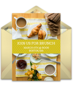 Free Brunch and Lunch Online Invitations | Punchbowl