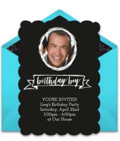 Free teen birthday online invitations punchbowl fancy birthday boy filmwisefo