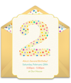 free toddler birthday online invitations punchbowl