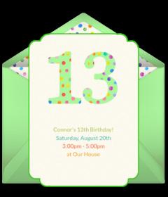 Free Teen Birthday Online Invitations Punchbowl