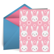 Easter Bunny Pattern card image