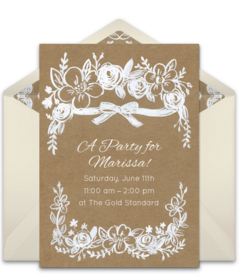 Free wedding online invitations punchbowl wedding stopboris Image collections