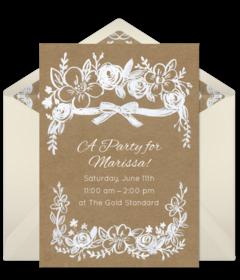 Free Wedding Online Invitations | Punchbowl