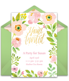 spring invitations