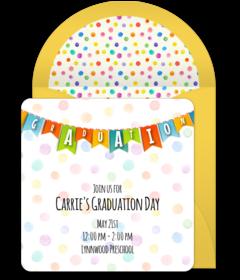 Free Preschool Online Invitations | Punchbowl