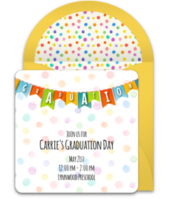 Elementary & Middle School Online Invitations | Punchbowl