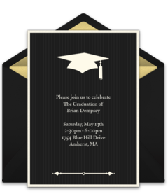 Free College Themed Online Invitations Punchbowl