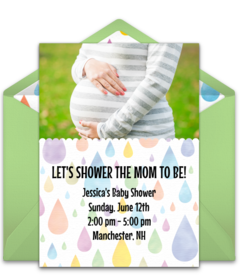 Free baby sprinkle online invitations punchbowl colorful baby shower filmwisefo