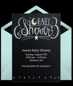 Free Baby Shower Online Invitations Punchbowl - Fresh baby shower planner template design