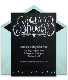 photograph relating to Free Printable Dinosaur Baby Shower Invitations known as Absolutely free Little one Shower On the internet Invites Punchbowl