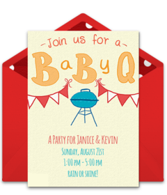 Free Gender Reveal Party Online Invitations