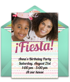 Free Spanish Invitations Online Invites