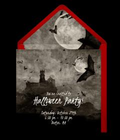 Free Halloween Online Invitations