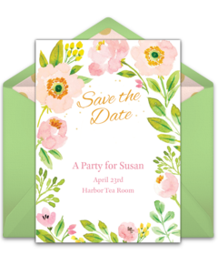 Christmas Party Save The Date Cards.Free Wedding Save The Dates Online Punchbowl