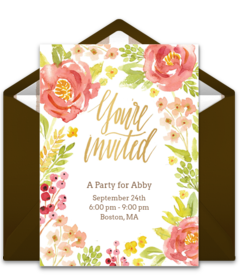Free adult birthday party online invitations punchbowl filmwisefo