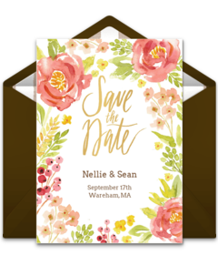 Free Wedding Save The Dates Online