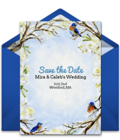 Free Save The Dates Online Save The Dates Punchbowl - Save the date holiday party templates free