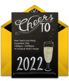 Free New Years Eve Online Invitations