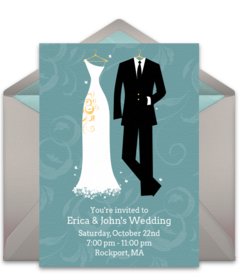 Free wedding invitations wedding online invites punchbowl stopboris Image collections