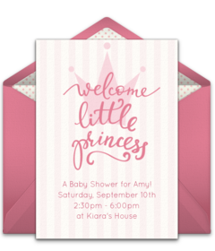 Free baby shower online invitations punchbowl plus stopboris Image collections