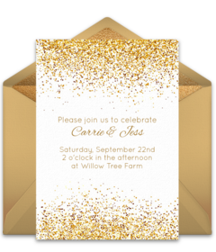 Free bridal shower online invitations punchbowl stopboris Gallery