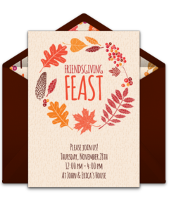 free friendsgiving online invitations punchbowl