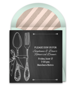 Free Dinner Party Online Invitations