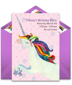 Free girl birthday party online invitations punchbowl plus stopboris Images