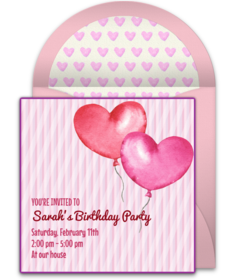 Free Valentine\'s Day Party Online Invitations | Punchbowl