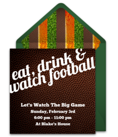Free Super Bowl Party Online Invitations Punchbowl