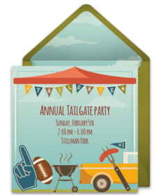 Free Tailgating Online Invitations Punchbowl