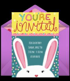 Family Easter Brunch Digital Invitation