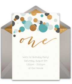 One Blue Disney Online Invitations