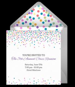 Free Reunion Online Invitations | Punchbowl