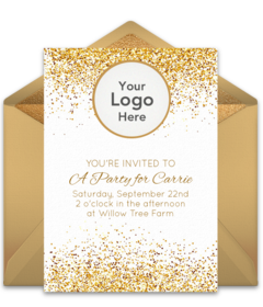 add your logo online invitations punchbowl