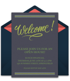 Free Housewarming Party Online Invitations Punchbowl - Free editable punch card template