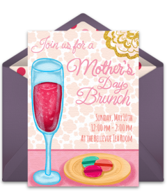 Free mothers day online invitations punchbowl mothers day brunch stopboris Choice Image