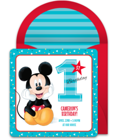 Mickey Mouse 1st Free