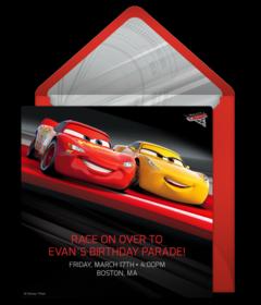 Free Boy Birthday Party Online Invitations