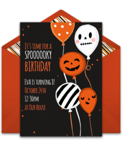 Free Halloween Online Invitations Punchbowl