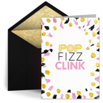 Pop Fizz Clink Confetti card image