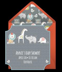 Free baby shower online invitations punchbowl baby shower filmwisefo