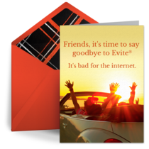 Say Goodbye card image