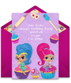 Shimmer And Shine Baking