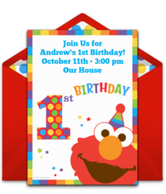Astounding Free 1St Birthday Online Invitations Punchbowl Funny Birthday Cards Online Alyptdamsfinfo