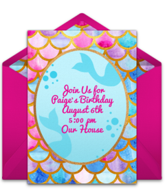 picture about Free Printable Pool Party Invitations titled Absolutely free Summer season Get together On line Invites Punchbowl