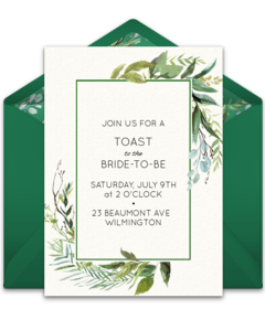 Free Engagement Party Online Invitations Punchbowl