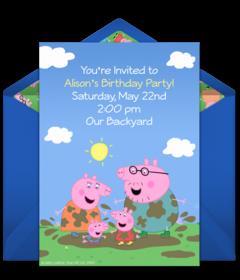 Free Toddler Birthday Online Invitations