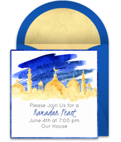 Free Islamic Online Invitations Punchbowl